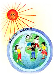 Ozone Depletion For Kids ozone layer for...
