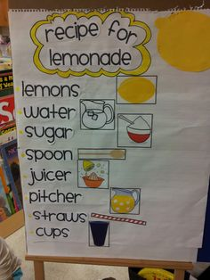 Lemonade Making Activity
