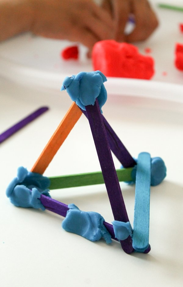 Pick and Stick Shapes competition