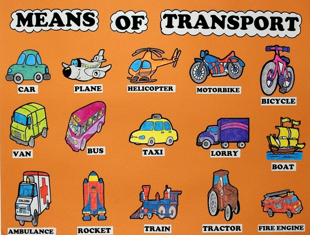 Means of Transport - Now & Then