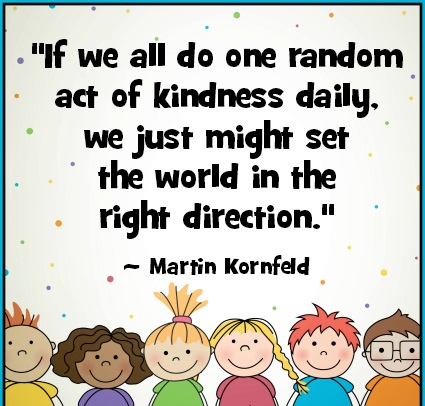 Special Assembly- A Little Kindness Goes A Long Way