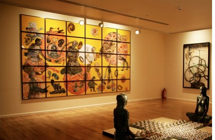 Visit to Kiran Nadar Gallery of Modern Art