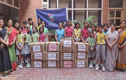Donation of Books, Toys, Clothes and Medicines by Globalites