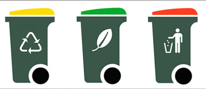 Cleanliness Drive - Use of Three Types of Dustbin