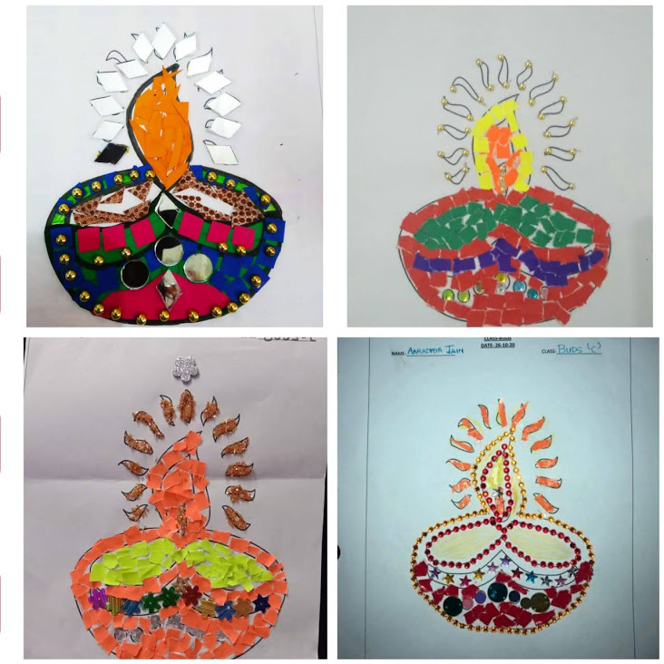 DIYA DECORATION COMPETITION-CLASS-BUDS