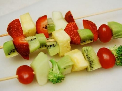 Fruit Chaat Making Activity