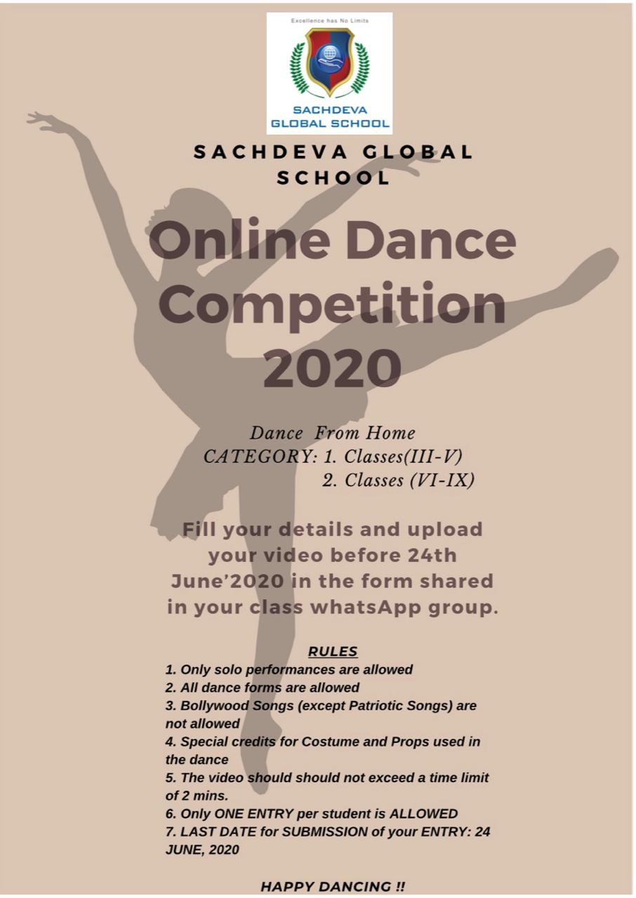 Online Dance Competition 2020