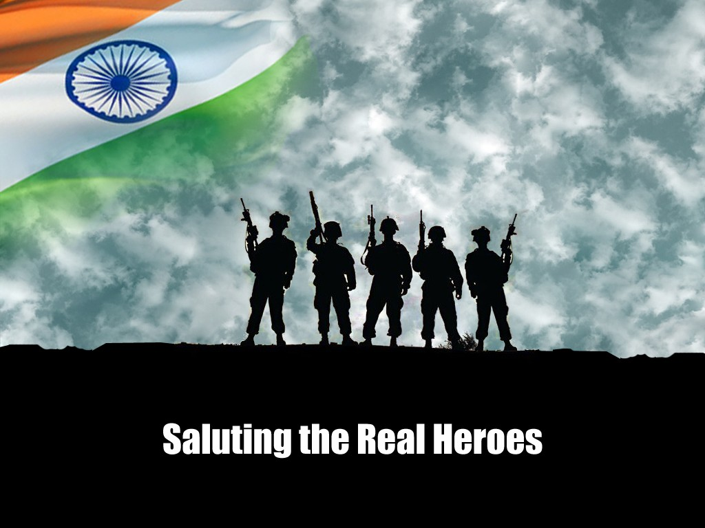 Honour Our Heroes - The Saviours of Our Nation