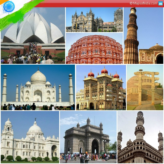 Monuments of India - Our Pride