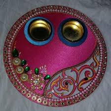 Online Thali Decoration Activity - Class II