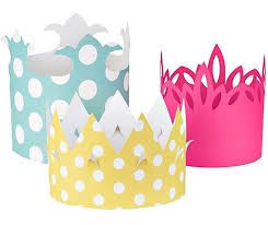 ACTIVITY - MAKING A PARTY CROWN - CLASS BUDS