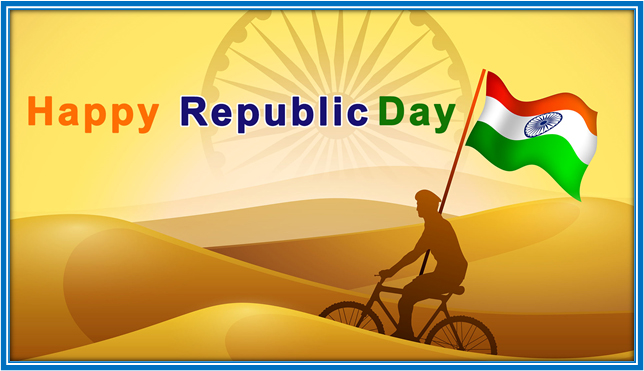 ACTIVITY : DRAWING A REPUBLIC DAY SCENE  (CLASS I)